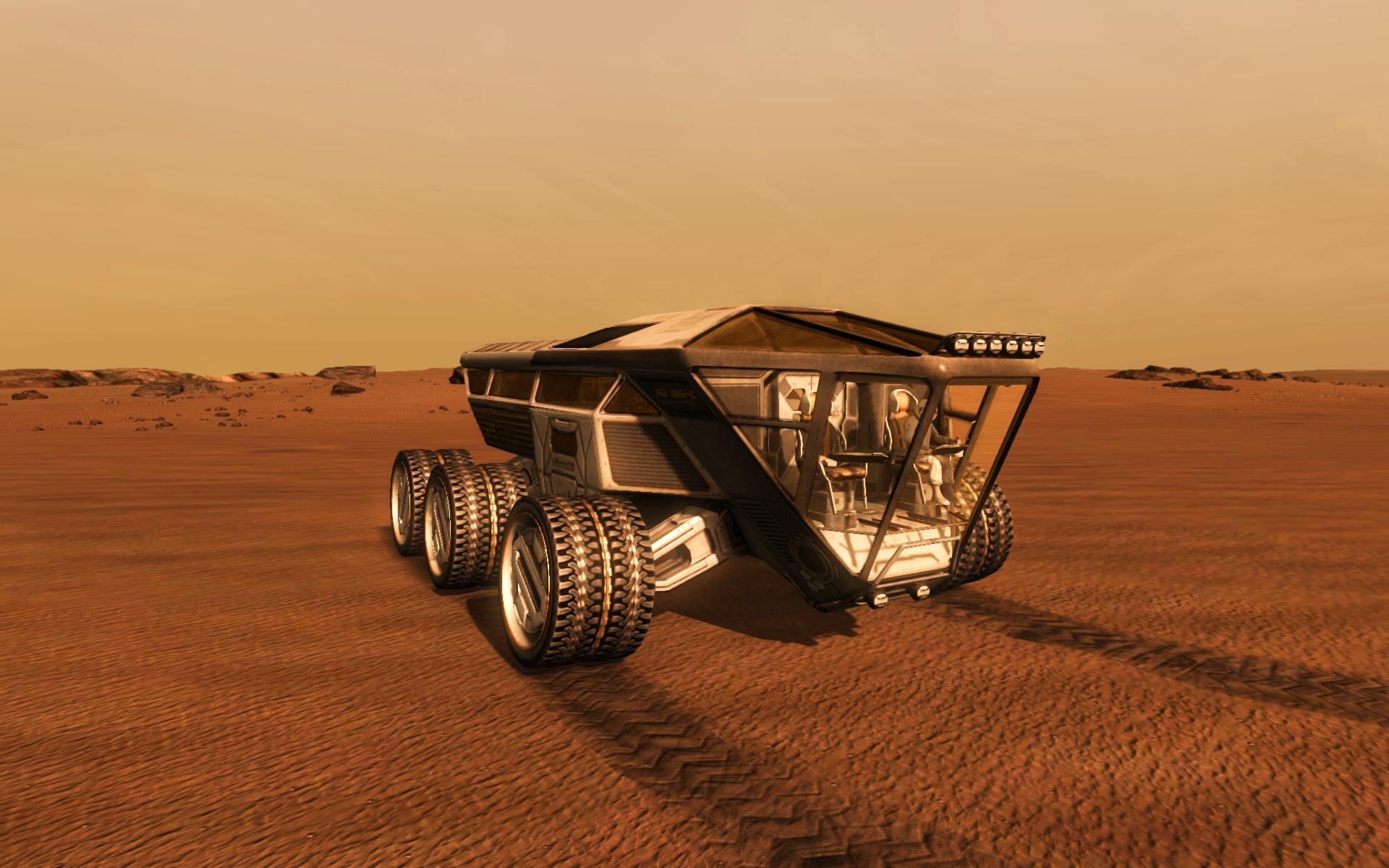 Take on Mars Preview screenshot